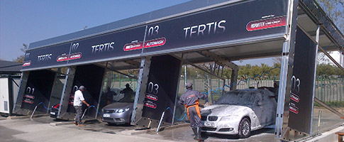 Car Wash Tertis design